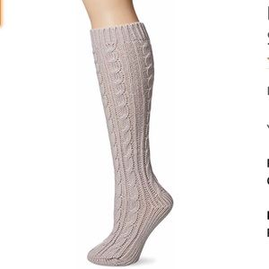 "New Muk Luks 15"" Cable Knit Knee High Socks"